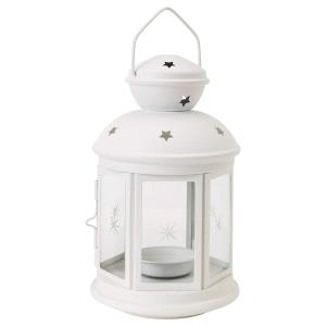 IKEA(イケア) ROTERA 90143189 ティーライト用ランタン, ホワイト micomema