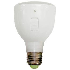 ラブロス Magic Bulb バッテリー内臓 LED電球 (外せば懐中電灯に早変わり ・E26口金・一般電球形・白熱電球40W相当・240 micomema