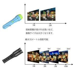 WINTECH プロジェクションライト 懐中電灯 投影ライト 投影ランプ 投影おもちゃ プロジェクターおもちゃ 12枚フィルムセット付 手持 micomema