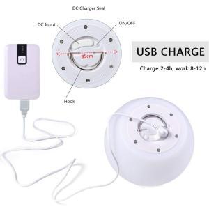 ボールライト リモコンランプ 無線ランプ 16色の変換ランプ 防水ライト ムードライト シェードライト 北欧風 寝室照明 LED電球 USB micomema
