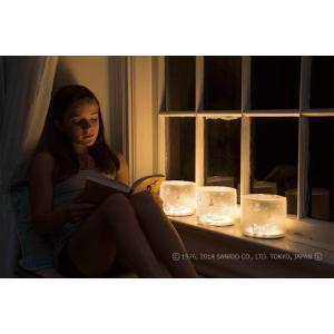 MPOWERD エムパワードラックス・ハローキティ 空気でふくらむ LED ソーラーライト micomema