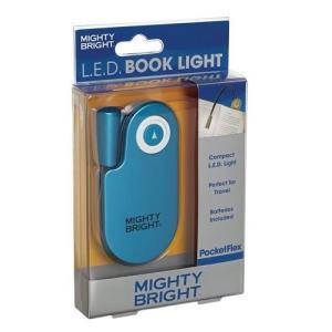 MIGHTY BRIGHT PocketFlex LEDブックライト ブルー 42911 micomema