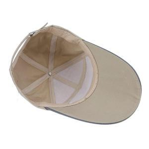 キャップ 夏 日よけ メンズ レディーズ 帽子 野球帽 キャンバス 丈夫 紫外線対策 春 カジュアル 調整可能 アウトドア 無地 ゴルフ テ|micomema