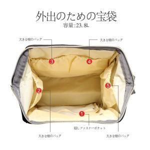 HEYIマザーズバッグ 軽量大容量多機能防水バックパック 人気 おしゃれ シンプルなレジャー旅行のシ...