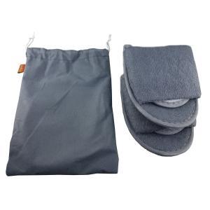 セット品トラベル用便利グッズ4点セット(ネックピロー、アイマスク、室内用スリッパ、収納用巾着)|micomema