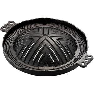 池永鉄工 IK鉄 ジンギスカン鍋 穴明 26cm 鋳鉄 中国 QGV2701