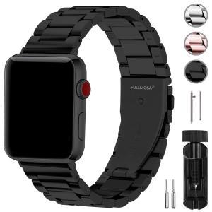 Fullmosa コンパチ Apple Watch バンド42mm/44mm ステンレス, アップル...