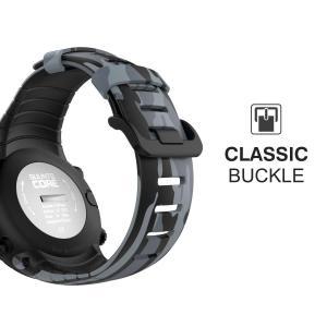 Suunto Core バンド - ATiC SUUNTO(スント) Coreコア専用 迷彩シリーズ ソフト 高級 TPU製腕時計ストラップ micomema