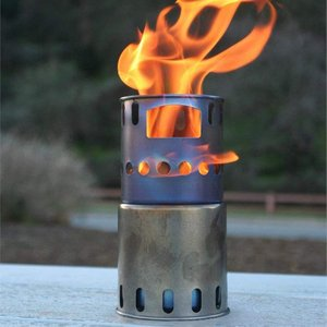 TOAKS(トークス)チタン製ストーブ 焚き火台 焚火台 バーベキューコンロ キャンプ 折りたたみ式...