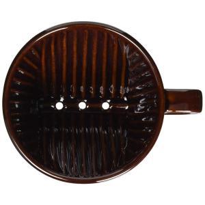 カリタ コーヒードリッパー 陶器製 2~4人用 ブラウン 102-ロト #02003|micomema