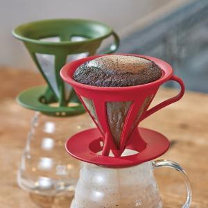 HARIO (ハリオ) ドリッパー カフェオール コーヒー ドリップ 1~4杯用 ブラック CFOD-02B|micomema