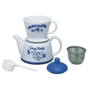 カリタ コーヒーセット 陶器製 ツーウェイドリップ 2~4人用 ポエム #35075 micomema
