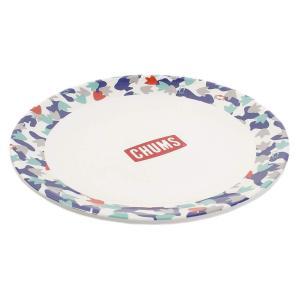 チャムス(CHUMS) 皿 メラミンディナープレート CH62-1241-Z031-00 Foot Camo|micomema