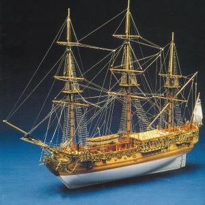帆船模型キット ロイヤルキャロライン