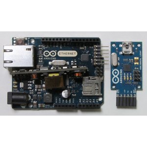 Arduino Ethernet R2 with PoE + USB2SERIAL|microfan