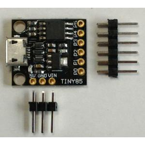 ATTiny85 Arduino Digispark 互換機 (microUSB)|microfan