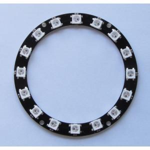 カラーLEDリング(WS2812B 16個)|microfan