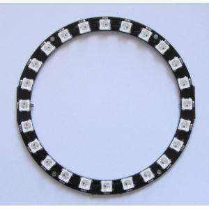 カラーLEDリング(WS2812B 24個)|microfan