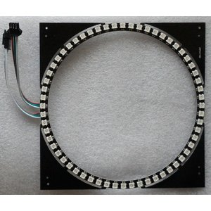 カラーLEDリング(WS2812B 60個)|microfan