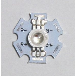 パワーRGB-LED-3W(ヒートシンク付)|microfan