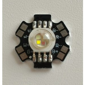 パワーRGBW-LED-12W(ヒートシンク付)|microfan