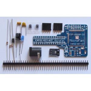 ESP32-KEY-KIT (ESP-WROOM-32 開発ボードキット)|microfan