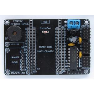 ESP32-SERVO-BASE RCサーボ拡張ボードキット|microfan