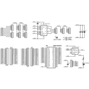 ESP32-SERVO-BASE RCサーボ拡張ボードキット|microfan|06