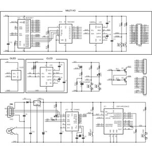 ESP8266-BLADE-CLCD 組み立て済|microfan|03