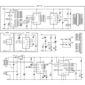 ESP8266-BLADE-CLCD キット|microfan|03