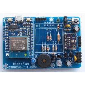 ESP8266-IoT-BASE 拡張ボードキット|microfan|06