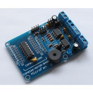 ESP8266-MOTOR-BASE DCモーター拡張ボードキット|microfan|02