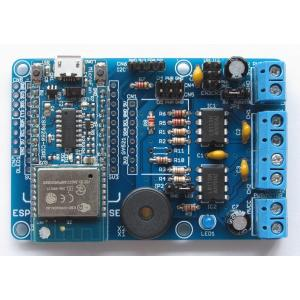 ESP8266-MOTOR-BASE DCモーター拡張ボードキット|microfan|03