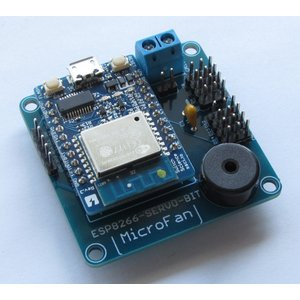 ESP8266-SERVO-BIT RCサーボ拡張ボードキット|microfan|05