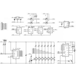 GL12864-STATION (SPIグラフィック表示拡張ボード) キット|microfan|02