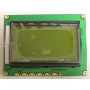 128X64ドット 液晶グラフィック・ディスプレイ(5V、ドット黒、バックライト黄緑)|microfan