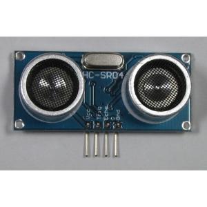 超音波距離センサー(HC-SR04)|microfan