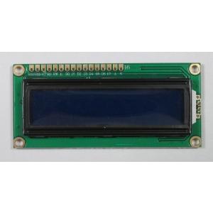 16文字2行液晶文字ディスプレイ(5V、文字白、バックライト青)|microfan