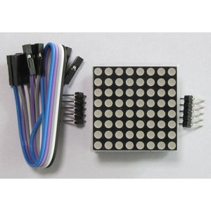 MAX7219 8X8ドットマトリックスLEDモジュール(FIT)|microfan