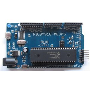 PICSYS18-MEGA5 (PIC18F46K22 開発ボード)|microfan