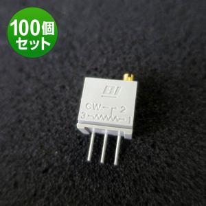 BIテクノロジー:68WR10LF(10Ω)〜100KLF(100KΩ)(トリマポテンショメータ)3/8