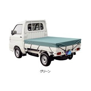 ボンフォーム(BONFORM) 軽トラック用 防水荷台シート グリーン 6650-01|micstore
