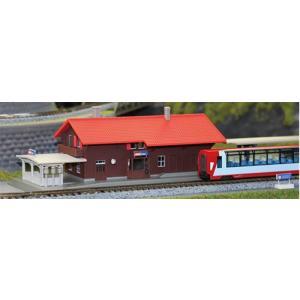 23-245A アルプスの氷河特急 スイスの駅舎 KATO