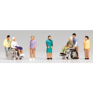 車椅子2台2人+付添5人  ■メーカー:KATO(カトー) ■スケール:Nゲージ ■商品番号:24-...