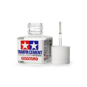 タミヤセメント(液体接着剤40ml) 【タミヤ・87003】