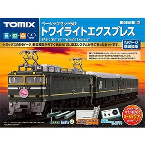 ベーシックセットSD トワイライトエクスプレス 【TOMIX・90172】
