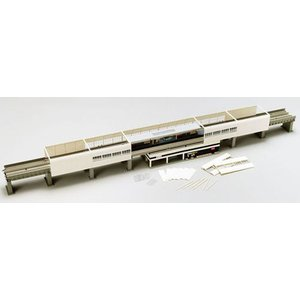 ファイントラック使用 レールパターンHB-SL レール側壁パーツを含む 高架複々線レイアウトに対応 ...