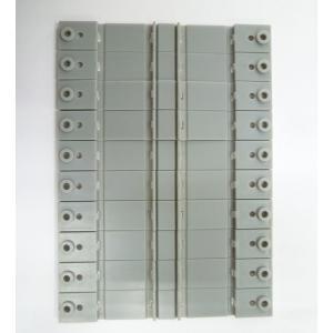複線用架線柱ベース(10個入)【ロクハン A007】 |mid-9