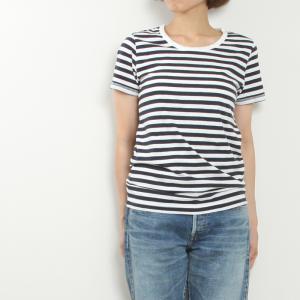 prit[プリット]ボーダークルーネック半袖Tシャツ 92549/92979/92088
