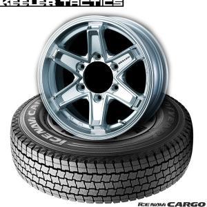 【キャラバン】195/80R15 107L(4本セット)《グッドイヤーICE NAVI CARGO & KEELER FORCE》|midori-tire